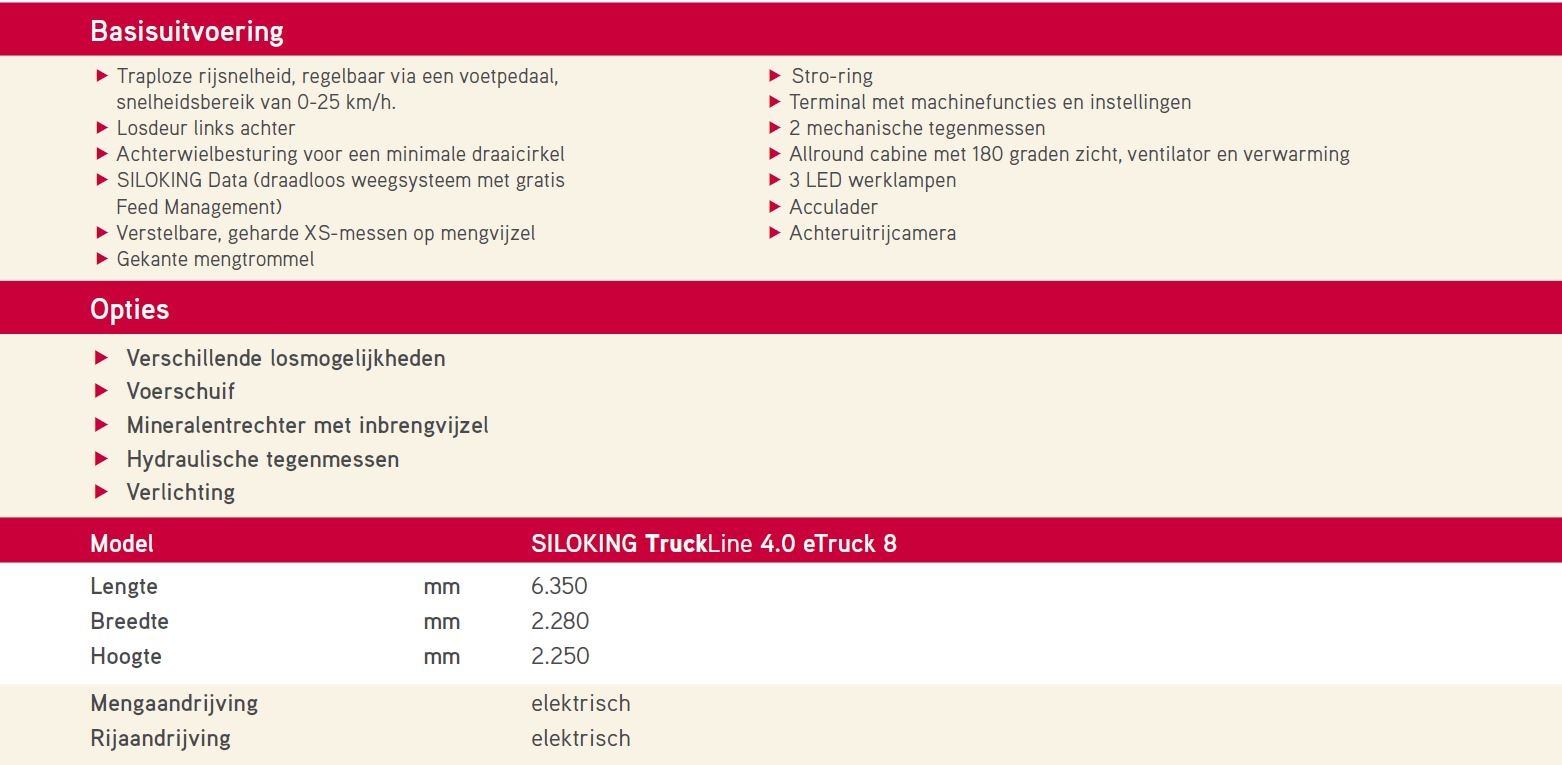 Specificaties TruckLine
